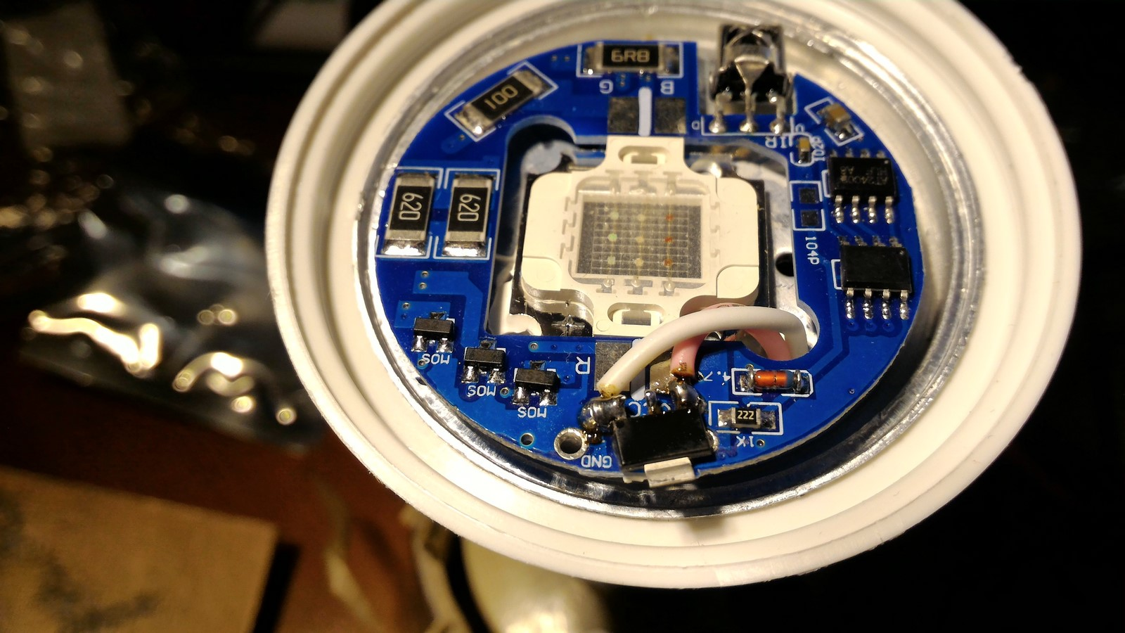 Hacking Rgb Ir Lamp With Esp8266 Failed Control Leds On Off Remote And Arduino P Marian Infrared Circuit Ams1117