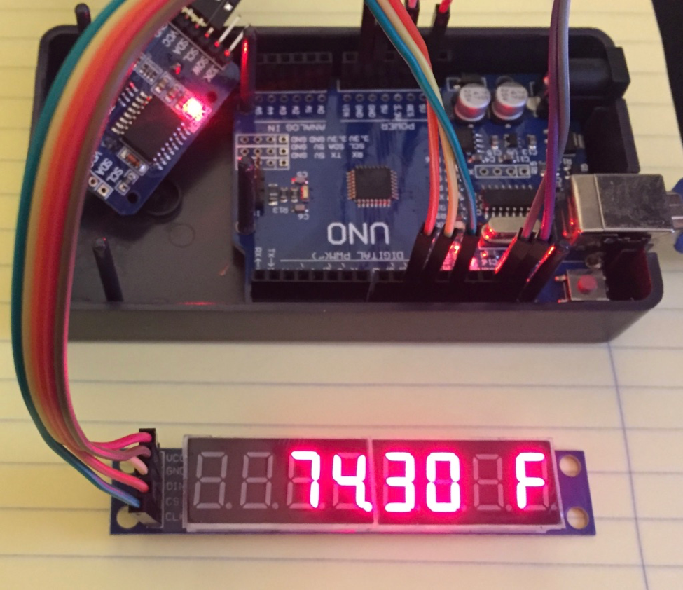 Programming An 8 Digit 7 Segment Display The Easy Way Using A Max7219 For Beginners Digital Clock With 7segments Led And Rtc To Create Character C Or F We Have Use No Decode Mode Of In This Case Segments B D E