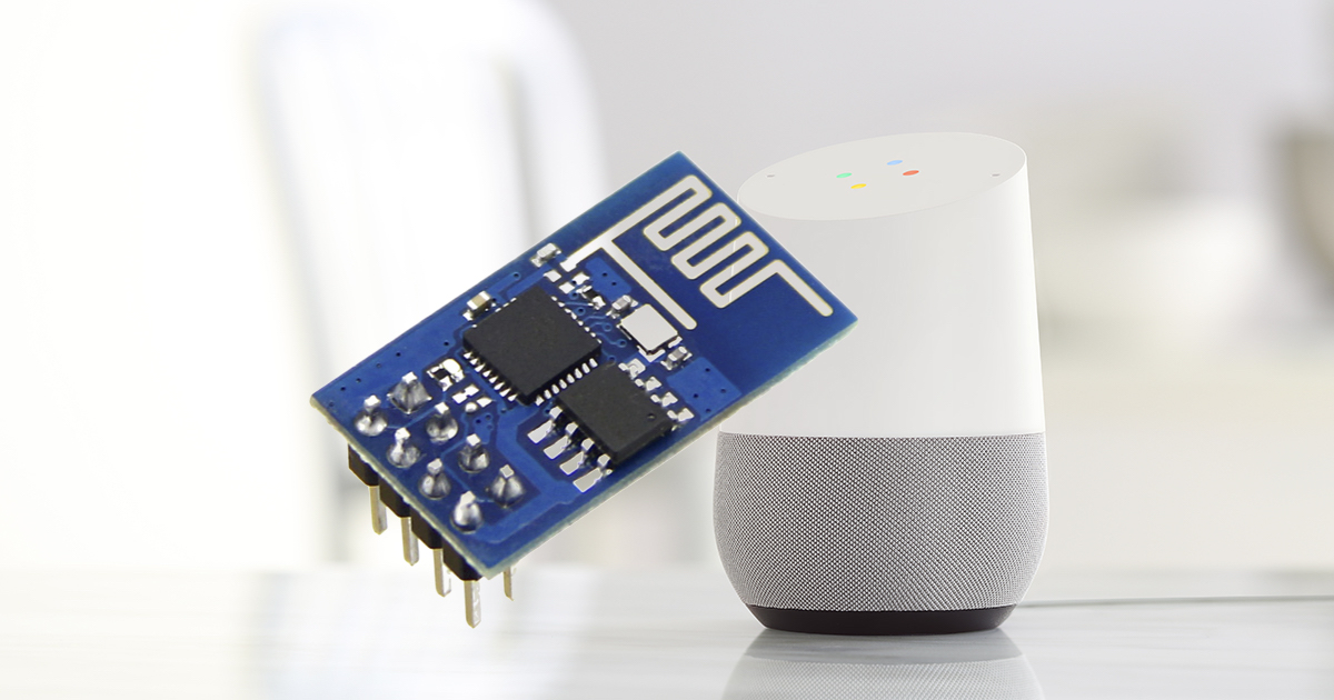 Use Google Assistant to control an ESP8266 using Blynk and IFTTT
