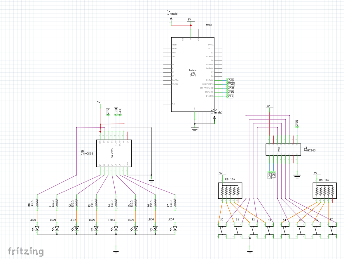 Pcb From Concept To Design Fabrication And Testing Using Fritzing Finally Here Are My Perfboard Layouts Some Pictures I Recommend That You Use The Following Features Of At Schematic Stage